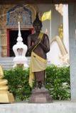 Черный Будда стоковые изображения