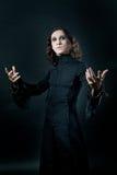 черный вампир Стоковая Фотография