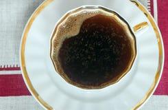 черный вектор поддонника иллюстрации кофейной чашки Стоковая Фотография RF