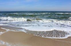 черный взгляд моря Стоковое фото RF