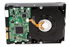 Черный внутренний диск жесткого диска Стоковые Фотографии RF
