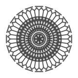 Черный графический орнамент Стоковые Изображения RF