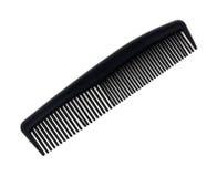 Черный гребень парикмахерской Стоковая Фотография