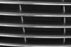 Черный гриль радиатора Решетка конца-вверх автомобиля, текстуры, предпосылки стоковая фотография rf