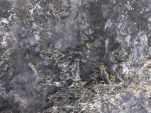 Черный декоративный гипсолит текстура Предпосылка Grunge Стоковые Фото