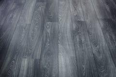 Черный деревянный пол стоковые фото