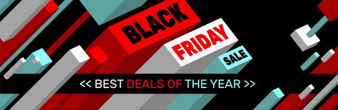 Черный дизайн знамени продажи пятницы стоковое изображение