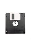 черный дискет Стоковые Изображения RF