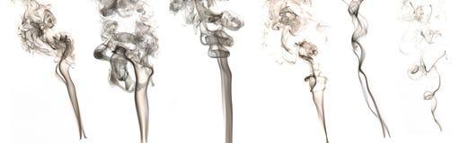 черный дым Стоковая Фотография RF