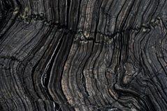 Черный деревянный мрамор Стоковое Изображение