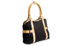 Черный женский мешок Стоковые Фото
