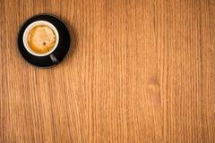 черный журнальный стол деревянный Стоковое Изображение