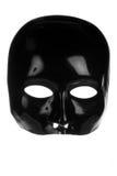 черный жуткий лицевой щиток гермошлема стоковое изображение rf