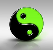 черный зеленый цвет Стоковое фото RF