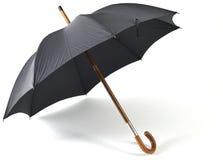 Черный зонтик год сбора винограда Стоковые Фотографии RF
