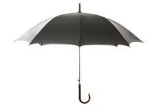 черный зонтик Стоковая Фотография