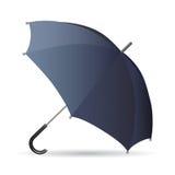 черный зонтик Бесплатная Иллюстрация