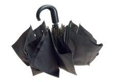 черный зонтик Стоковое Изображение