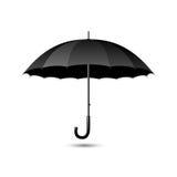 черный зонтик Стоковые Изображения RF