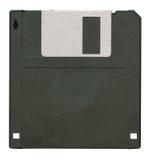 черный изолированный дискет Стоковая Фотография