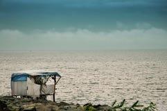 черный индюк моря береговой линии Стоковая Фотография RF