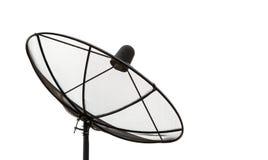 Черный диск спутниковой связи Стоковые Фото