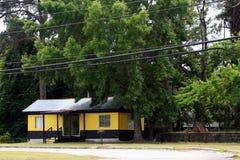 Черный и желтый дом Стоковая Фотография RF