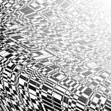 Черный и напишите перспективе абстрактную предпосылку бесплатная иллюстрация