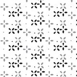 Черный и серебряный знак креста тени разбросал с bac точечного растра Стоковые Фото