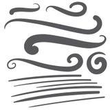 Черный кабель шрифта текста swoosh squiggle - дизайн футболки бейсбола иллюстрация штока