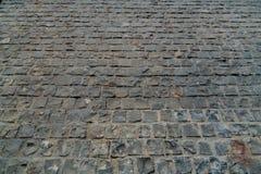 Черный каменный пол блока Стоковые Изображения RF