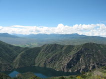 черный каньон Стоковое Изображение