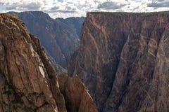 Черный каньон Gunnison стоковая фотография rf