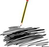черный карандаш стоковое фото