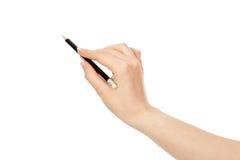 черный карандаш Стоковое Изображение RF
