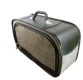 черный классицистический сбор винограда чемодана Стоковая Фотография RF