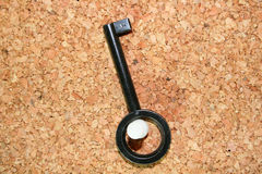 черный ключ стоковые фотографии rf