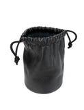 черный кожаный мешок Стоковое фото RF