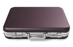Черный кожаный чемодан бесплатная иллюстрация