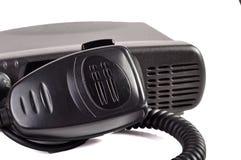 черный компактный портативный профессиональный комплект радио Стоковые Фотографии RF