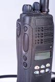 черный компактный портативный профессиональный комплект радио Стоковые Изображения RF