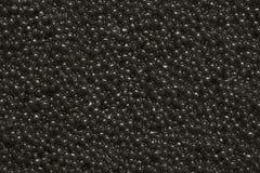 Черный конец-вверх икры как предпосылка Текстура черной икры стоковые изображения