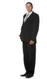 черный костюм бизнесмена Стоковое Изображение RF