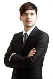 черный костюм бизнесмена Стоковое Изображение