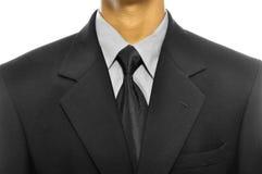 Черный костюм дела Стоковые Изображения RF