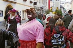Черный костюм мамы Стоковые Фотографии RF