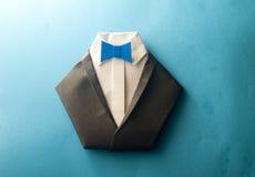Черный костюм Стоковая Фотография RF