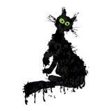 черный кот бесплатная иллюстрация