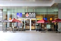 черный кофе каньона Стоковая Фотография