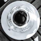 черный кофе Стоковые Изображения RF